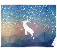 Oh Deer Blue Mountains Poster