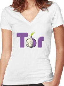 Tor Women's Fitted V-Neck T-Shirt
