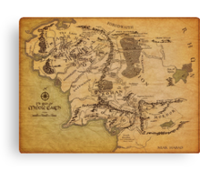 The Middle Earth Canvas Print