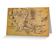 The Middle Earth Greeting Card