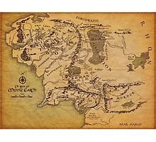 The Middle Earth Photographic Print