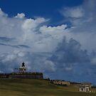 Dramatic Tropical Sky Over Old San Juan, Puerto Rico by Georgia Mizuleva