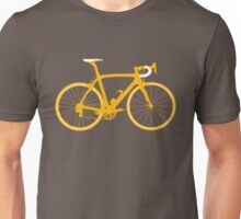 Bike Orange (Big) Unisex T-Shirt
