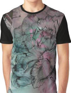 Peony Ink Graphic T-Shirt