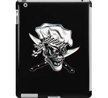 Skull Chef with Checkered Bandana iPad Case/Skin