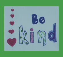 Be Kind - Hearts&Patterns Kids Clothes