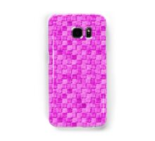 Woven Neon pink - OneMandalaADay Samsung Galaxy Case/Skin
