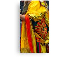 First Nations' Dress Canvas Print