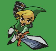Toon Link - Changeable Color by Pat Le Roy