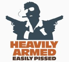 Heavily Armed by artpolitic