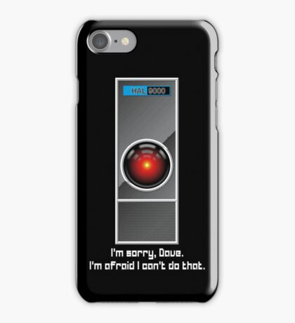 HAL 9000 iPhone Case/Skin