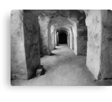 Underneath Qutub Shahi Tomb Canvas Print