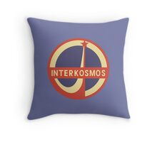 interkosmos: soviet space mission Throw Pillow