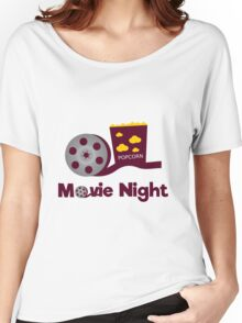 Retro movies night Women's Relaxed Fit T-Shirt