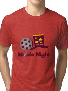 Retro movies night Tri-blend T-Shirt