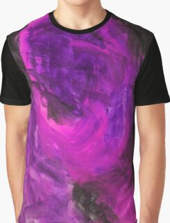 Abstract Watercolor Texture Painting Graphic T-Shirt