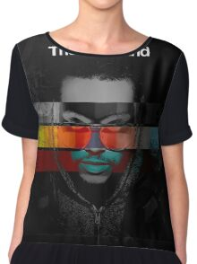 The Weeknd Chiffon Top