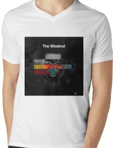 The Weeknd Mens V-Neck T-Shirt