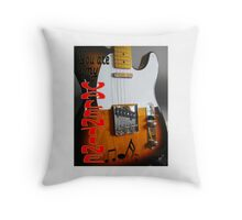 VALENTINE Fender Telecaster Throw Pillow