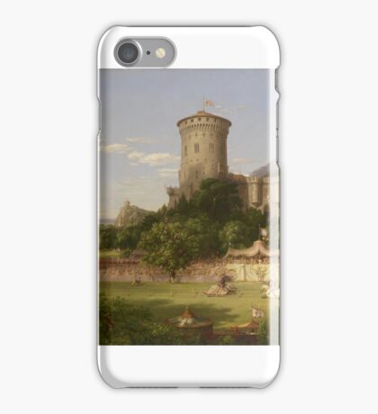 THOMAS COLE, THE PAST iPhone Case/Skin
