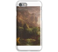 THOMAS COLE, THE VOYAGE OF LIFE, CHILDHOOD iPhone Case/Skin