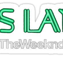 The Weeknd KissLand #RNB Sticker