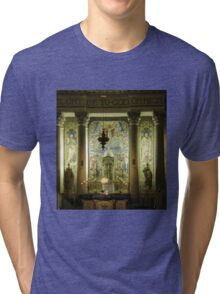 Local church in the evening Derry Ireland Tri-blend T-Shirt