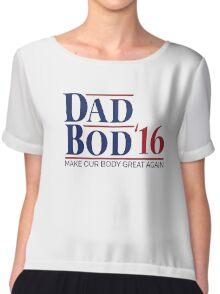 Dad Bod '16 T-shirt (US 2016 Election Parody) Chiffon Top