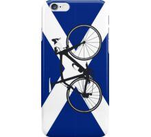 Bike Flag Scotland (Big - Highlight) iPhone Case/Skin