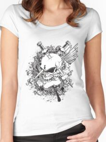 Life or Death Women's Fitted Scoop T-Shirt