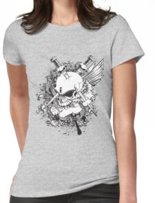 Life or Death Womens Fitted T-Shirt