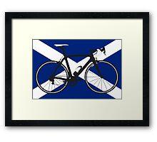 Bike Flag Scotland (Big - Highlight) Framed Print