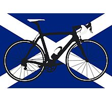 Bike Flag Scotland (Big - Highlight) Photographic Print