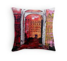 Amsterdam, the Amstel Throw Pillow