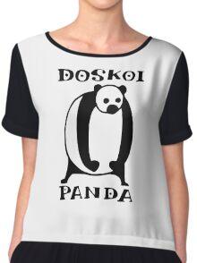 Doskoi Panda Chiffon Top