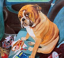 Hot Dog In The Car by Hannah Dosanjh