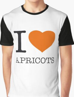 I ♥ APRICOTS Graphic T-Shirt