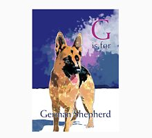 G is for German Shepherd Unisex T-Shirt