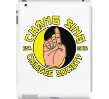 Chang sing iPad Case/Skin