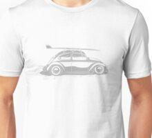 Surf VW Beetle Unisex T-Shirt