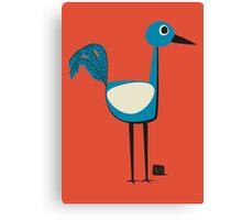 A Curious Bird Canvas Print