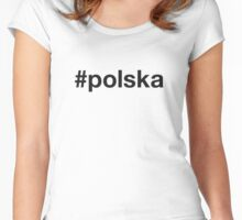 POLSKA Women's Fitted Scoop T-Shirt