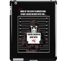 Mugshot iPad Case/Skin