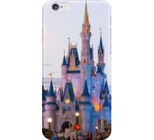 Cinderella's Castle at Dusk (phone case) iPhone Case/Skin