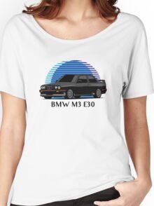 BMW M3 Sport Evolution (E30) (black) Women's Relaxed Fit T-Shirt
