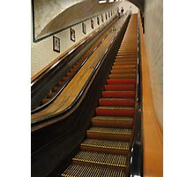 old escalator Photographic Print