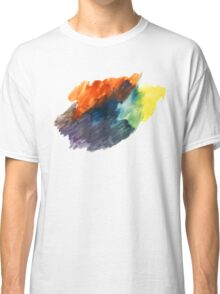 Handmade Abstract Watercolor Texture Classic T-Shirt