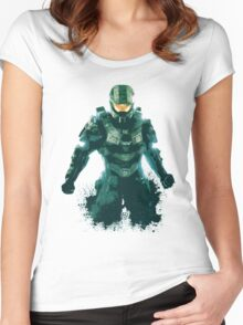 Halo Women's Fitted Scoop T-Shirt