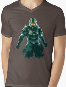 Halo Mens V-Neck T-Shirt