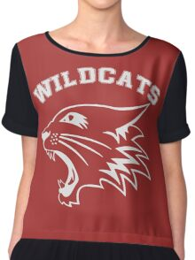Wildcats Team Chiffon Top